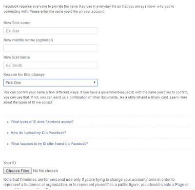 How To change your Facebook Profile Name Before 60 Days Limit 1